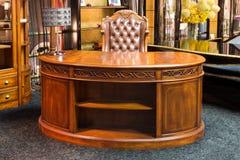 Antique writing desk Royalty Free Stock Photos