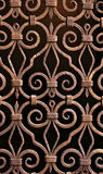 antique wrought iron pattern, grill, Venice  Royalty Free Stock Image