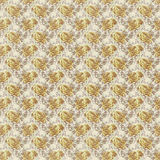 Antique yellow shabby chic rose repeat pattern wallpaper Stock Image