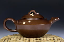 Antique Yixing Tea Pot. Royalty Free Stock Photography