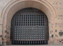 Antiqued antyczna brama Kijów Zdjęcia Royalty Free