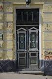 Antiqued drzwi w Kijów Obraz Stock