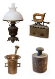 Antiques. Isolated on the white backgroun Stock Photography