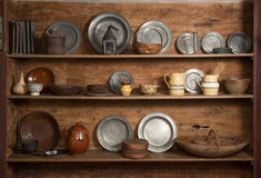 Antiques on Display Royalty Free Stock Images