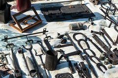 Antiques Market Royalty Free Stock Photos