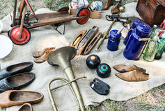 Antiques Market Royalty Free Stock Images