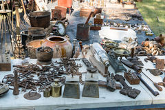 Antiques Market Royalty Free Stock Image