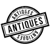 Antiques rubber stamp Stock Images