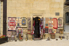 Antiques on sale in arabic town. Antiques on sale in old arabic town Royalty Free Stock Images