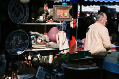 Antiques seller Royalty Free Stock Images