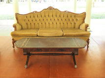 Antiques sofa Royalty Free Stock Images