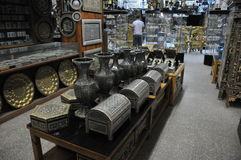 Antiques store in Cairo Stock Image