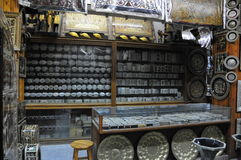 Antiques store in Cairo Stock Images