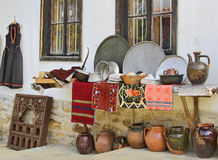 Antiques store. Antiques and souvenirs store in Bulgaria Stock Photography