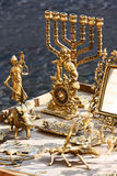 Antiques  things counter Royalty Free Stock Photo