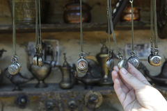 Antiques watches at a flea market Royalty Free Stock Images