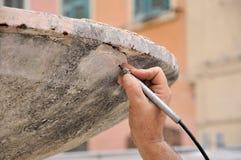 Antiquité di sabbiatura Fotografia Stock Libera da Diritti