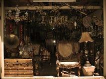 Antiquitätengeschäft-Anzeige Lizenzfreies Stockbild