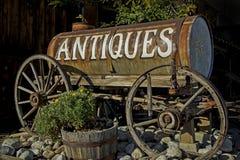 Antiquitätens-Zeichen Lizenzfreie Stockbilder