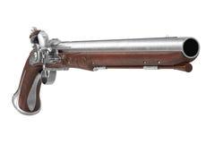 Antiquité d'arme à feu de pistolet Photo stock