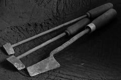 Antiquité de fer à souder Images libres de droits