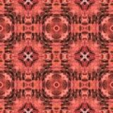 Antiquité des textes de kaléidoscope de batik Images libres de droits