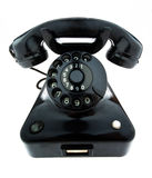 Antiquité, vieux rétro téléphone Photos libres de droits