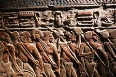 Antiquités antiques au musée de Louxor - Egypte Image stock