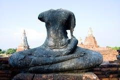 Antiquités dans l'ayudthya Photographie stock libre de droits