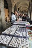 Antiquités de Madrid Photographie stock