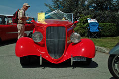 Antiquiteit 1934 Ford Roadster, BC, Canada Stock Foto
