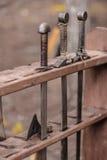 Antiquiteit gescherpte wapens royalty-vrije stock foto's