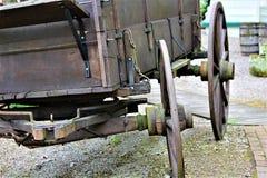 Antiquiteit Getrokken Wagen stock fotografie