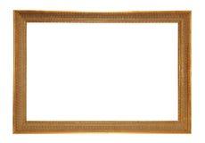 Antiquiteit gouden-gekleurd frame Stock Afbeeldingen