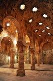 Antiquiteit hammam, Arabische baden in Ronda, Malaga provincie, Andalusia, Spanje stock afbeeldingen