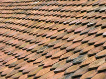 Antiquiteit rooftiles 1 Stock Foto