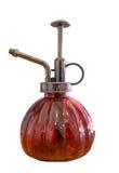 Antiquiteit van olie de rode lampen op witte achtergrond stock fotografie