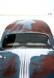 Antiquiteit verlaten auto Pontiac royalty-vrije stock fotografie