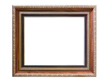 Antiquiteit woodenframe stock foto's
