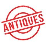 Antiquiteiten rubberzegel stock illustratie