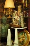 Antiquiteiten in Taormina in Sicilië Stock Foto's