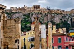 Antiquiteiten van Athene Royalty-vrije Stock Fotografie