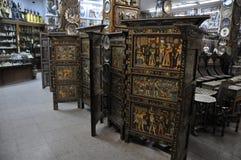 Antiquiteitenopslag Royalty-vrije Stock Afbeeldingen