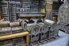 Antiquiteitenopslag Royalty-vrije Stock Afbeelding