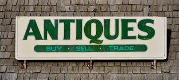 Antiquiteitenteken Royalty-vrije Stock Afbeelding