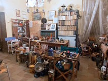 Antiquiteitenwinkel Royalty-vrije Stock Afbeelding