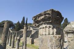 antiquites罗马的波纳佩 免版税库存照片