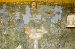 antiquites罗马的波纳佩 免版税库存图片