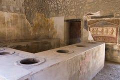 antiquites pompei римский Стоковое фото RF