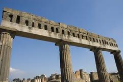 antiquites roman pompei arkivfoton